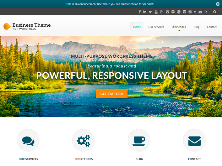 40+ Premium Responsive WordPress Themes 2014