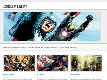 Comics Art Gallery