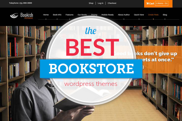 best bookstore wordpress themes