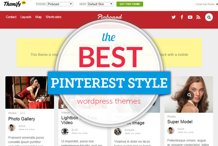 3c20355f97a5 the best pinterest style wordpress themes