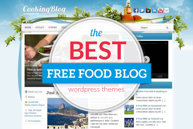 best free food blogs