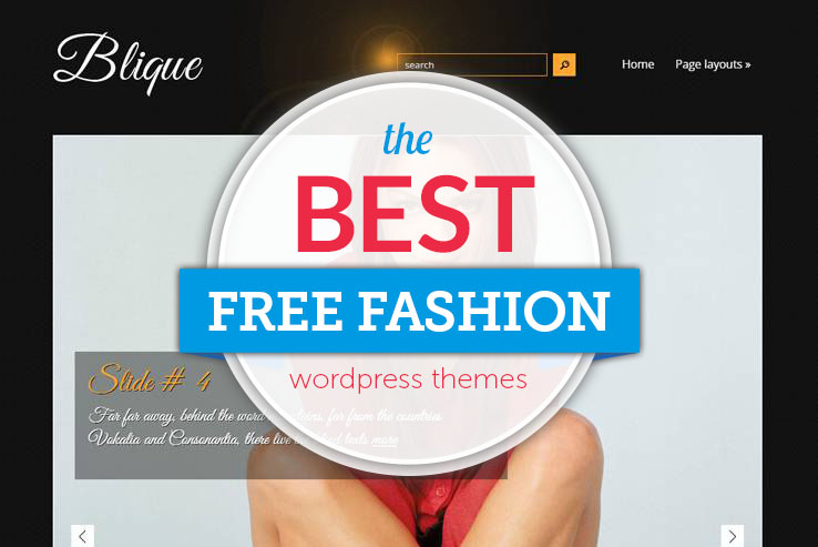 best free fashion blog wordpress themes
