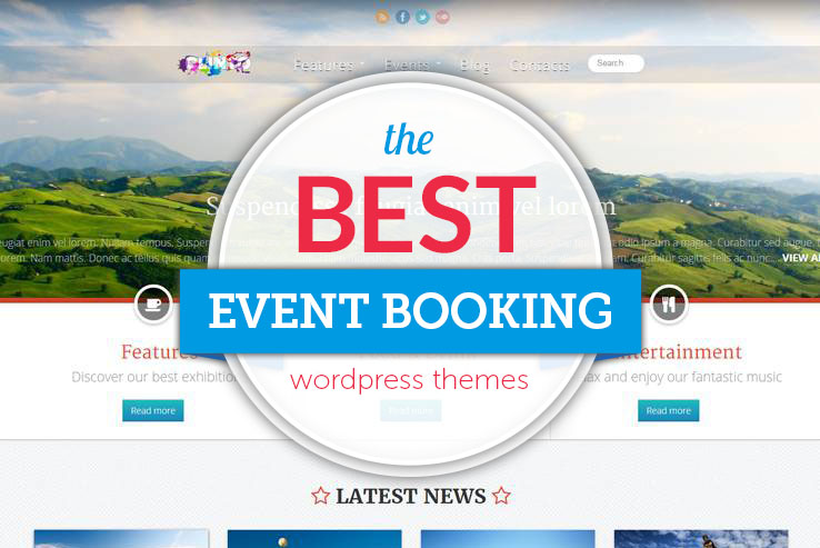 the best event booking wordpress themes