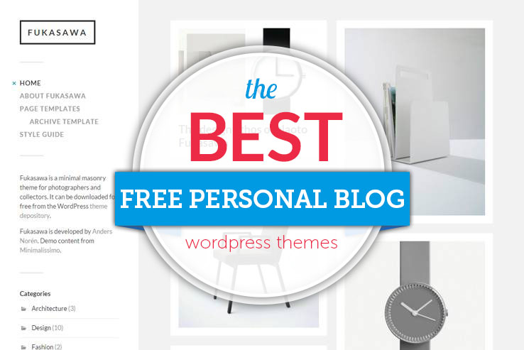 best free personal blog themes