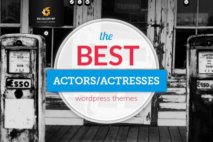 best actors wordpress themes