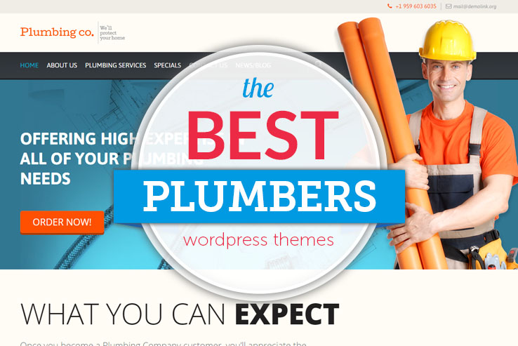best plumbers wordpress themes
