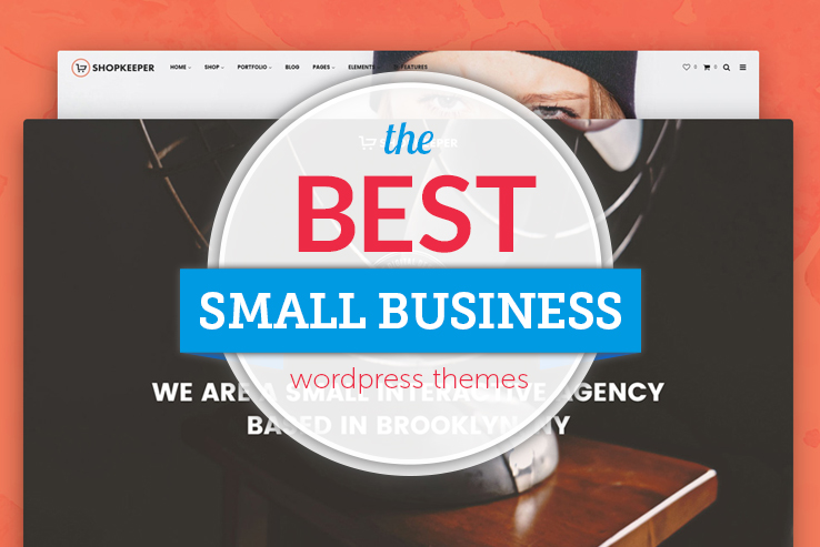 best small business themes