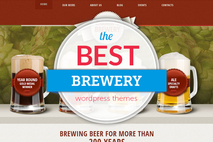 Best Brewery WordPress Themes