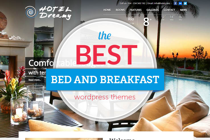 best bed and breakfast themes