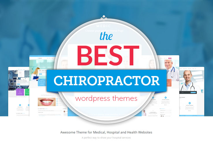 best chiropractor wordpress themes