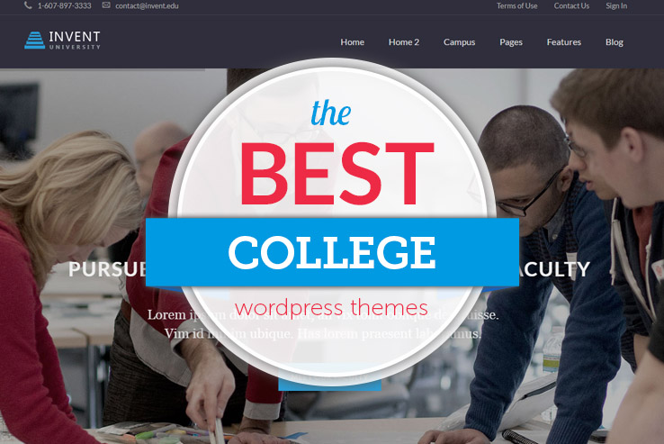 best college wordpress themes