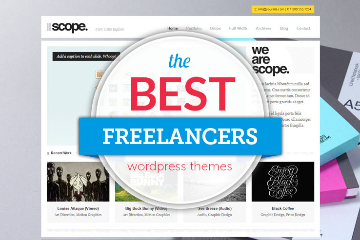 best freelancers wordpress themes