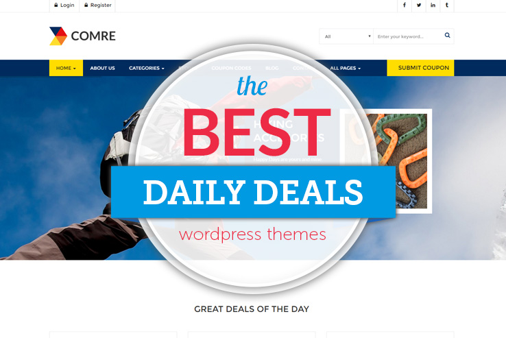 best daily deals wordpress themes