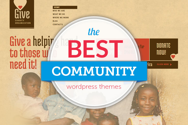 best community wordpress themes