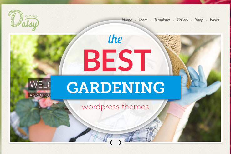 best gardening wordpress themes
