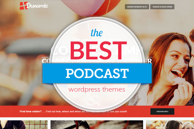 best podcast wordpress themes