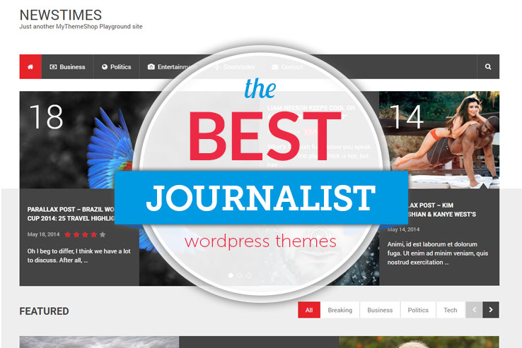 best journalist wordpress themes