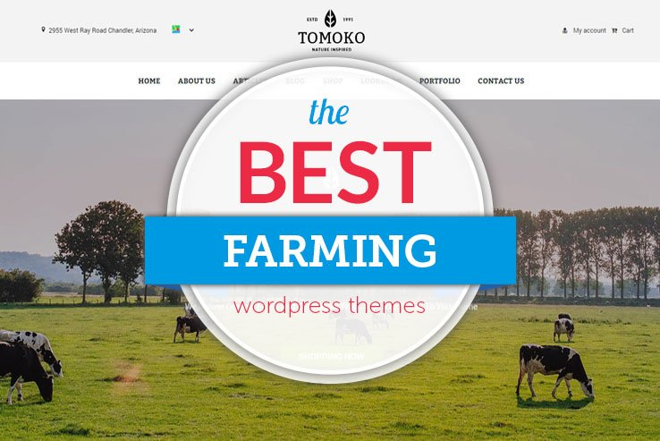 best farming wordpress themes