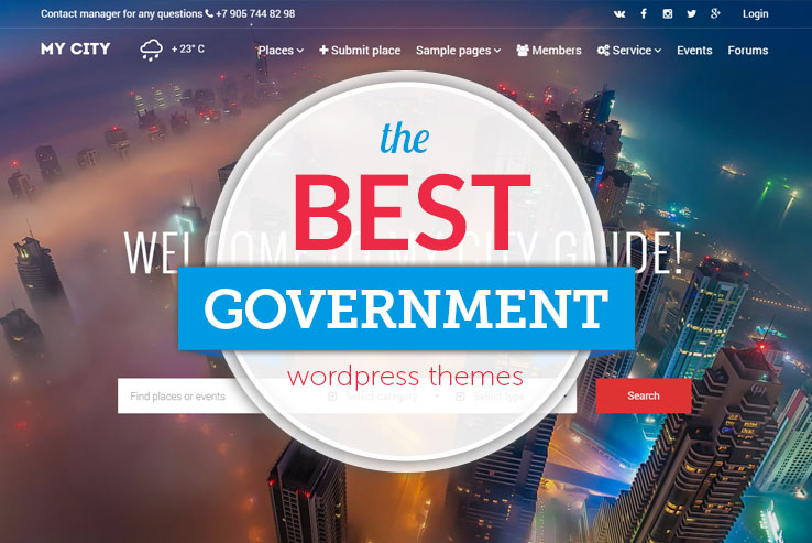 Best Government Wordpress Themes 2021