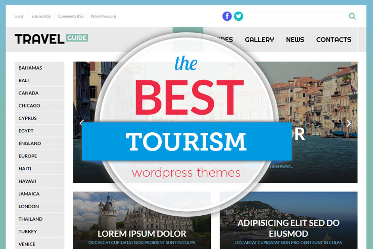 best tourism wordpress themes