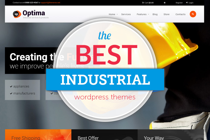 best-industrial-wordpress-themes