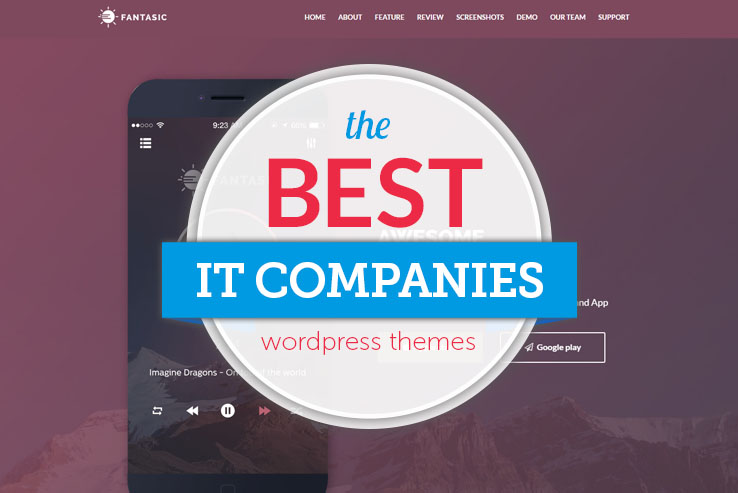14+ Best WordPress Themes for IT Companies in 2018