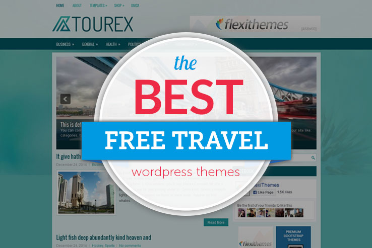 Free Travel WordPress Themes