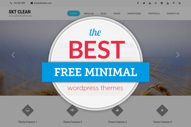 free-minimal-wordpress-themes