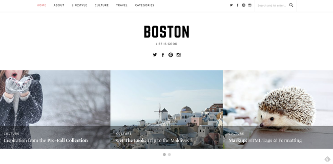 Boston Pro Homepage