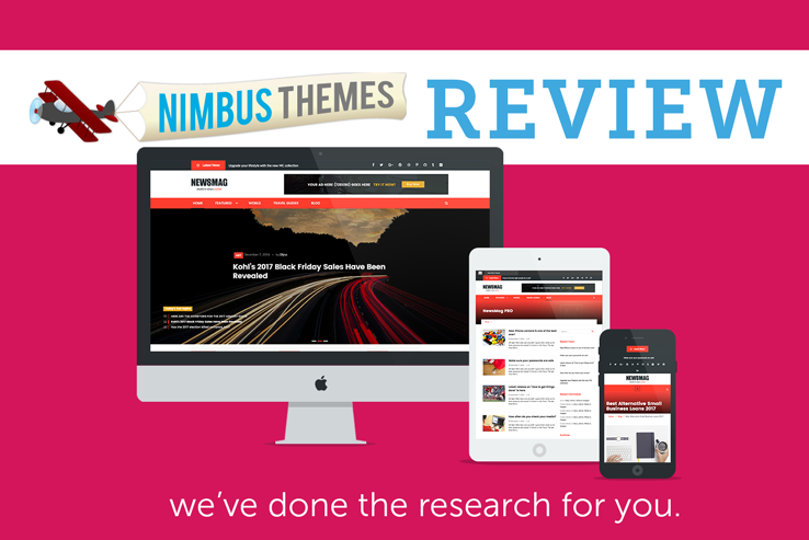 Nimbus NewsMag Themes Review