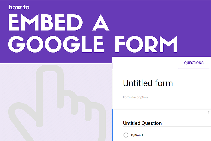 How to Embed a Google Form