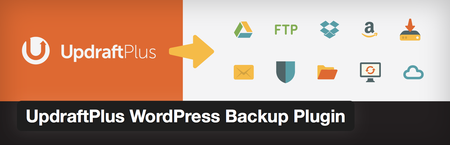UpdraftPlus is a free WordPress plugin for backing up your site