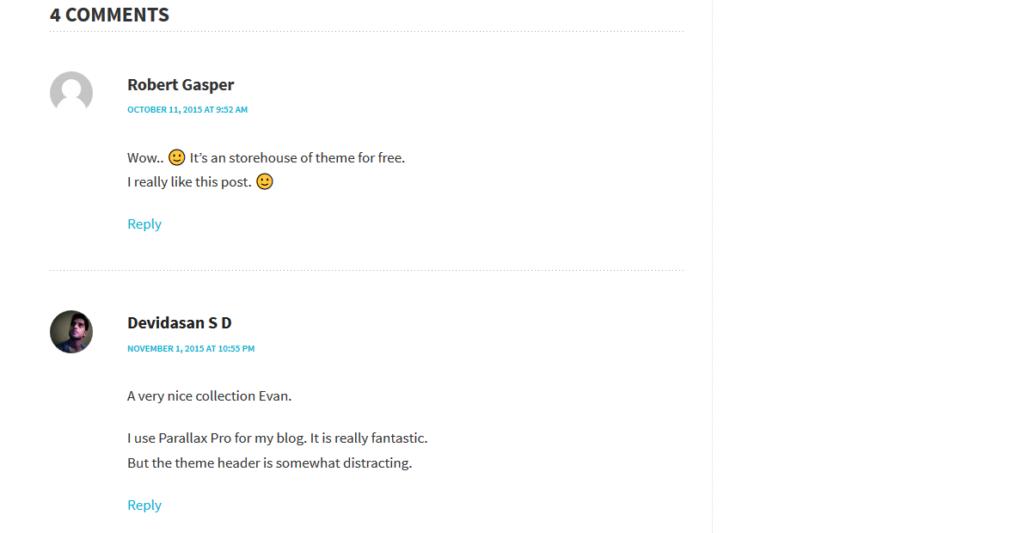 Nimbus Comments Section