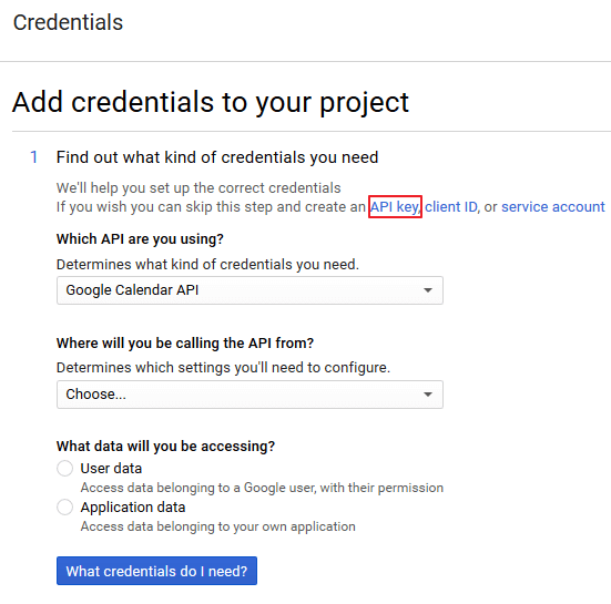 Embed Google Calendar - Simple Calendar - Google Calendar Plugin API Key