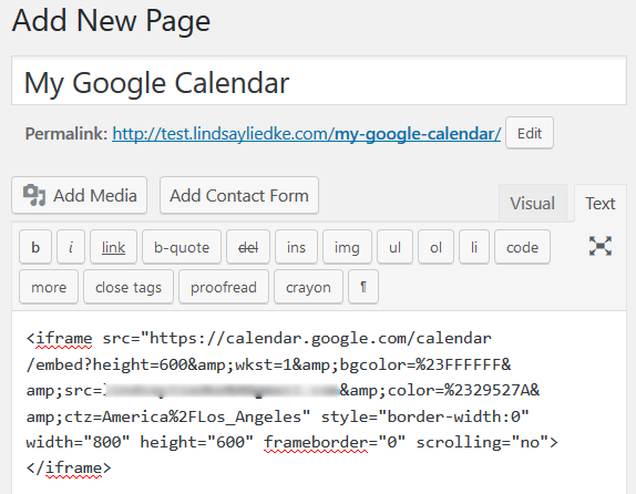 Embed Google Calendar in WordPress in Less than 5 Minutes