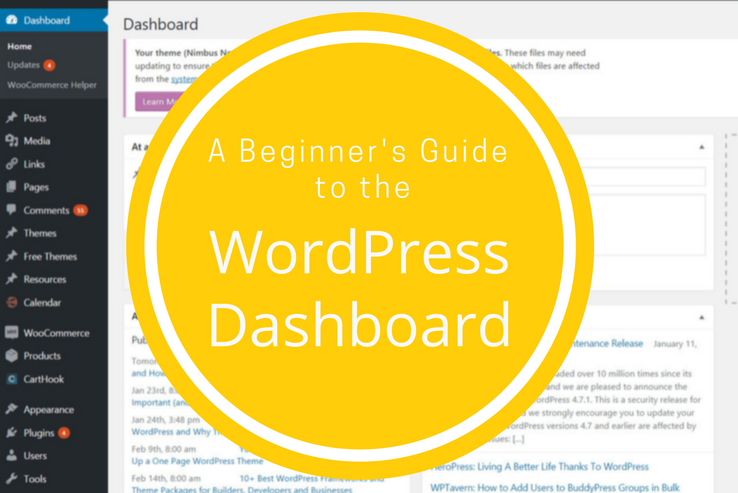 Everything you need to know about the WordPress dashboard
