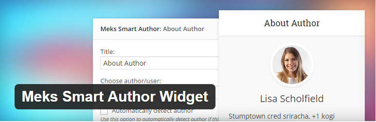 Meks Smart Author Widget