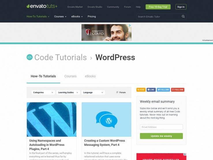 Tuts+ WordPress
