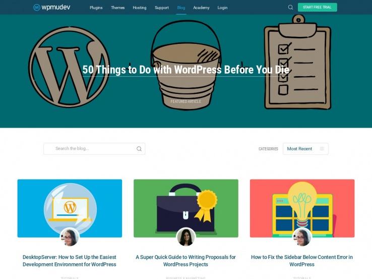 WPMU Dev Blog
