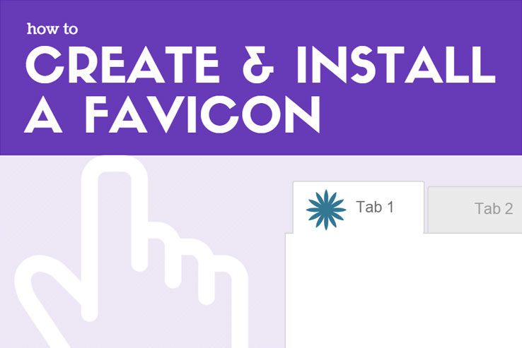 How to Create and Install a Favicon