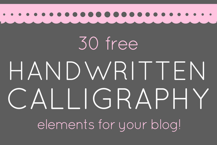 Handwritten Calligraphy FREE DOWNLOAD