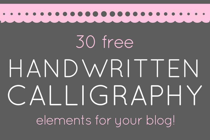 Handwritten Calligraphy FREE DOWNLOAD