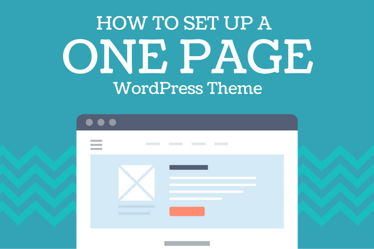 Set Up a One Page WordPress Theme