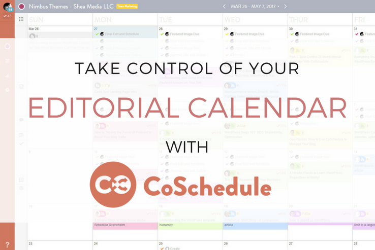 Manage Article Production with CoSchedule