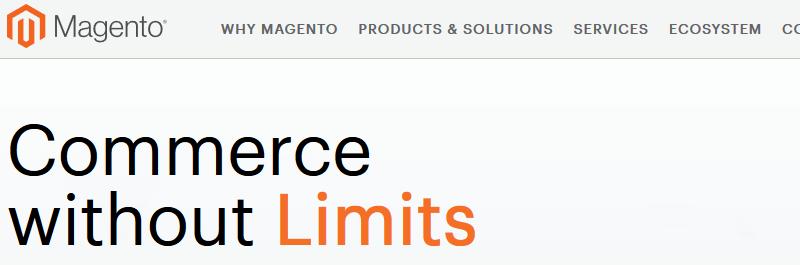 Magento, eCommerce Platform