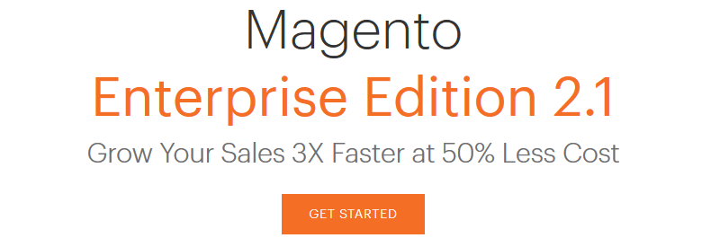 Magento-Enterprise, eCommerce Platform