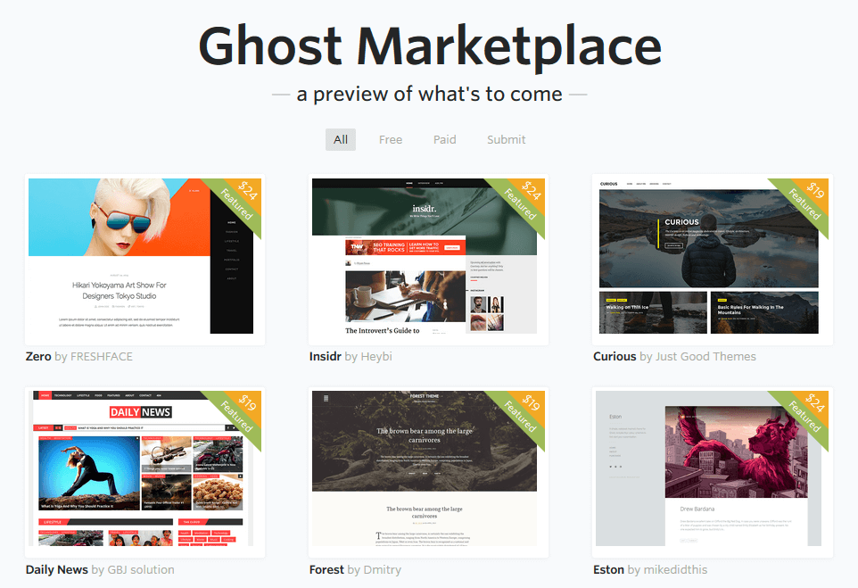 Ghost-Blogging-Platforms-Marketplace
