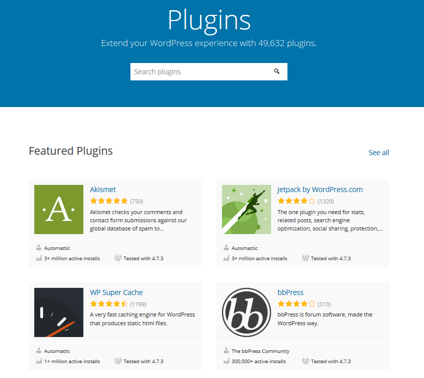 WordPress Blogging Platforms Plugin Options