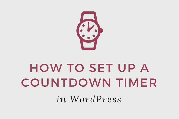 Set up a Countdown Timer