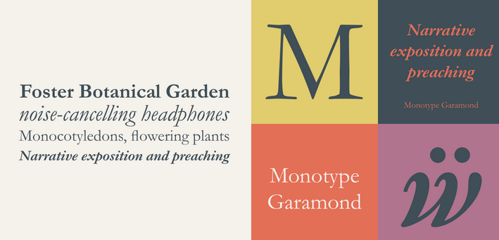 Sans-serif-example-Monotype-Garamond